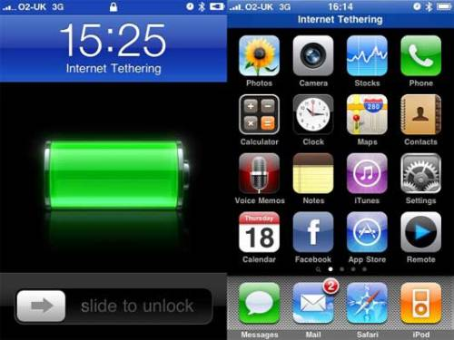 Use your iPhone as a Modem