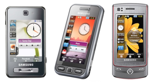 Set up email on Samsung Tocco F480, Tocco Lite or Tocco Ultra